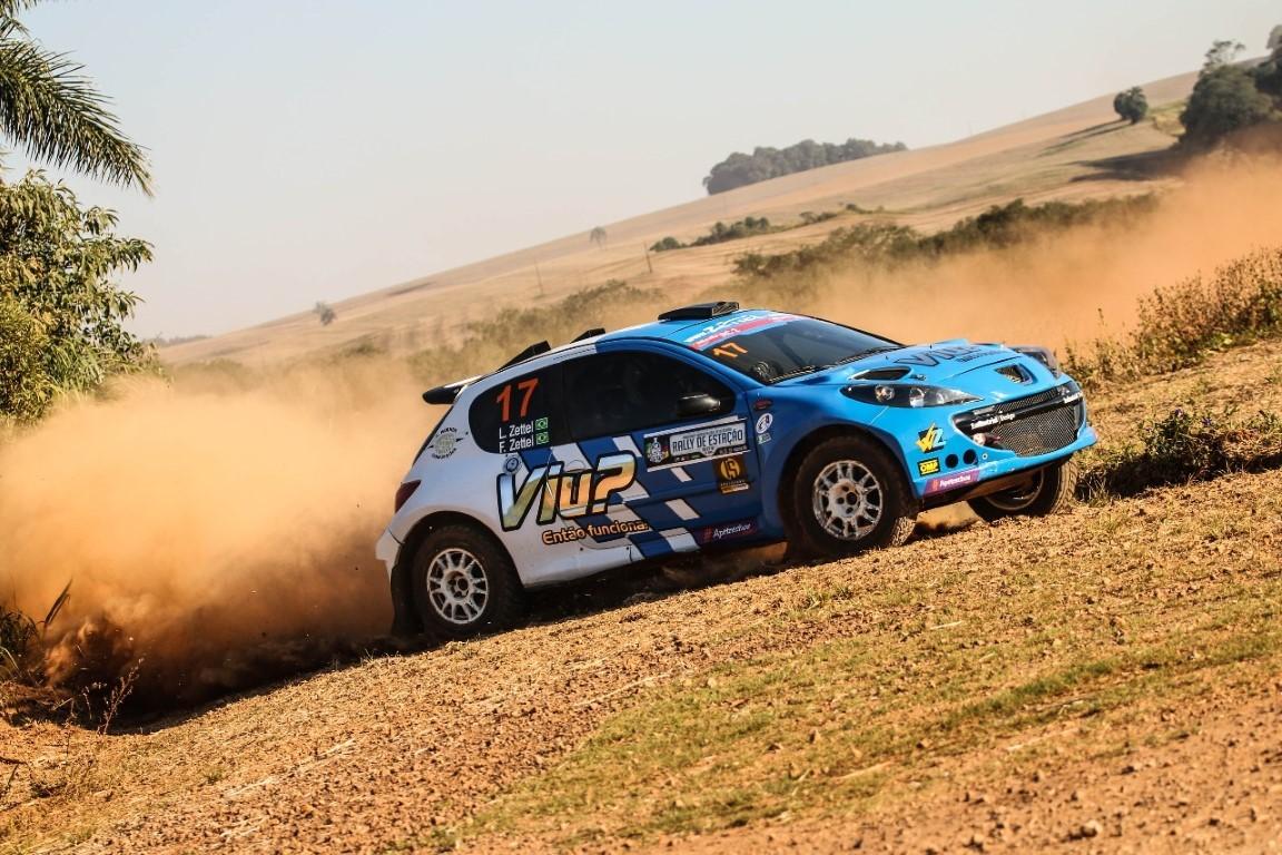 Acidente tira irmãos Zettel do Rally de Estação