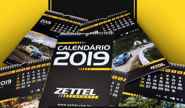Promoção Calendário Zettel Sport 2019
