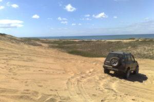 Dica: Andando em Areia