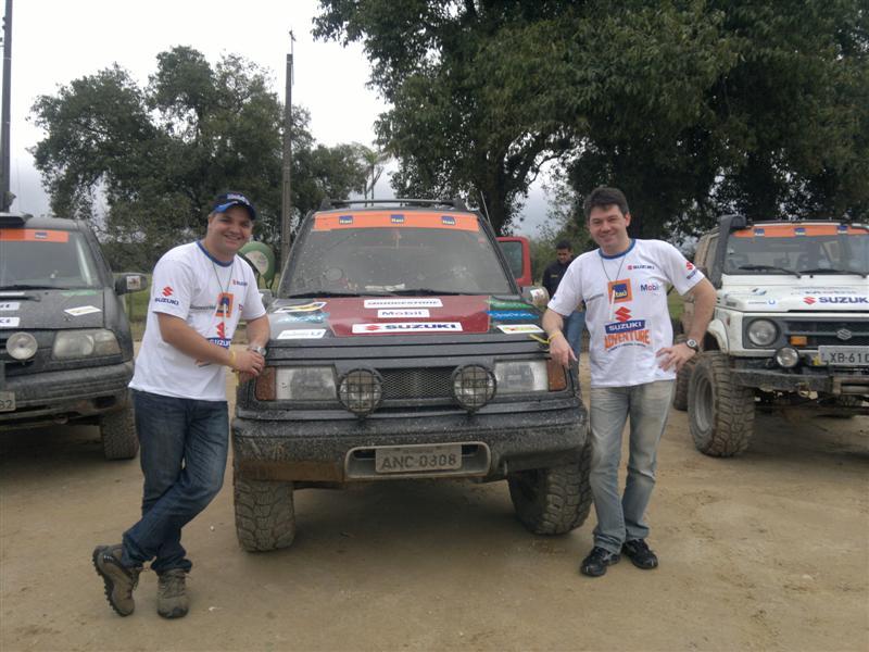 Leo Zettel e Rafael Pinto ficam em quinto lugar na segunda etapa do Suzuki Adventure