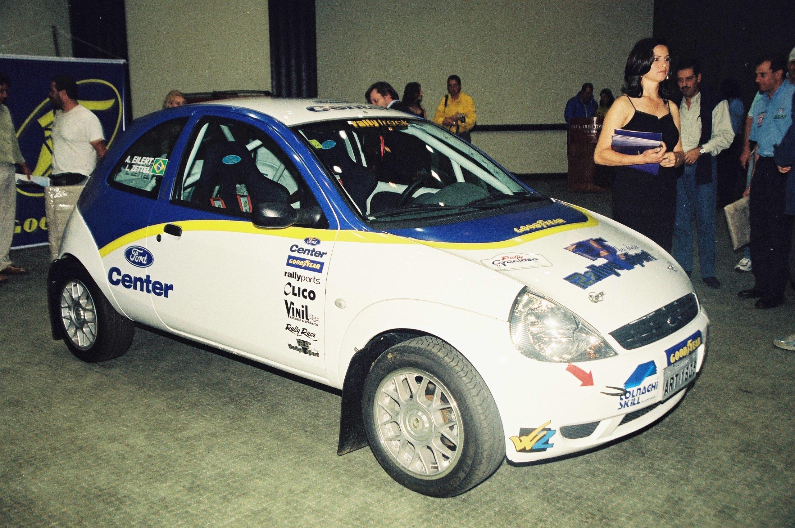 Ford Ka da equipe Rally Track está no Salão do Automóvel em Curitiba