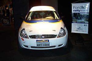 Ford Ka de Rally presente no Capacete de Ouro