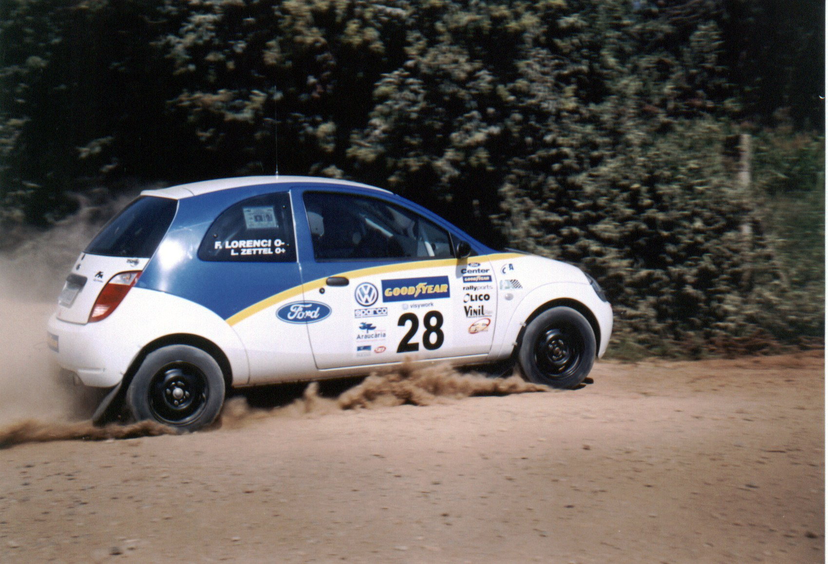 You are currently viewing Santa Catarina abre o Brasileiro de Rally 2007