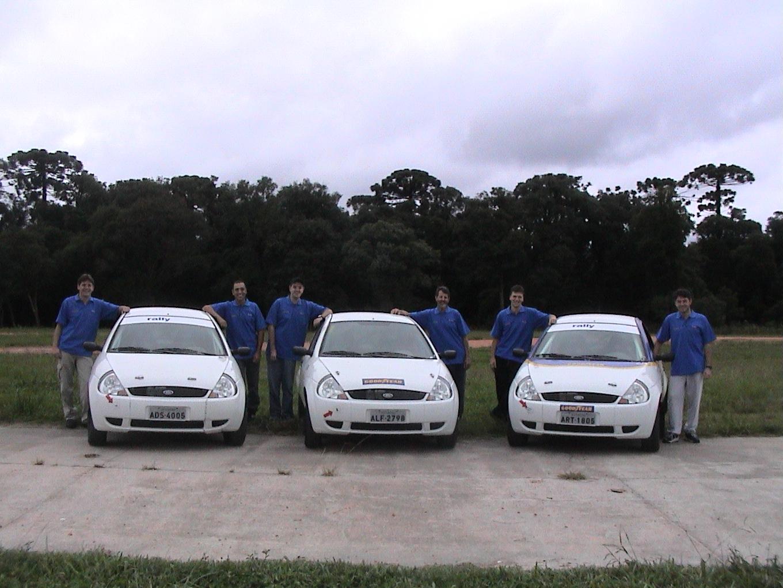 Rally Track realiza o primeiro treino do ano