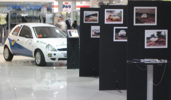 Ford Ká em exposição no Shopping Cidade