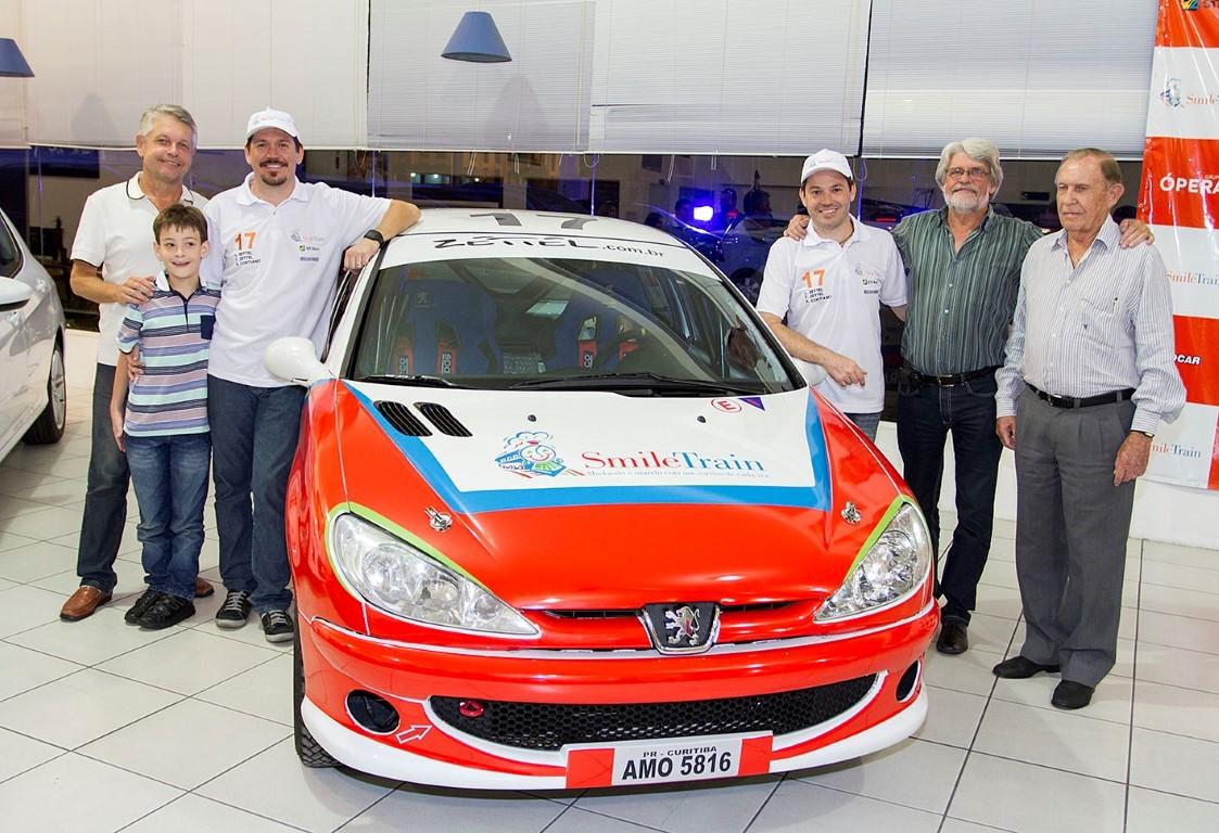 No Rally Rota SC Velocidade dupla da Zettel Sport presta homenagem ao Dia dos Pais
