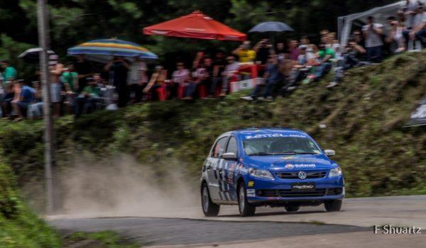 Subida da Montanha foi o treino perfeito para o Rally de Morretes