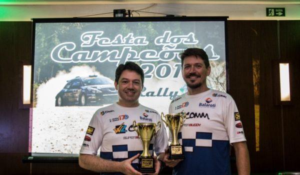 Festa dos Campeões encerra a temporada 2016 de rally