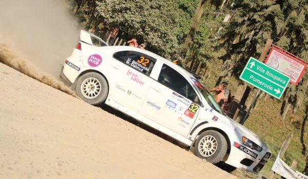 Brasileiro de Rally de Velocidade começou em grande estilo no retorno do Rally Pomerode