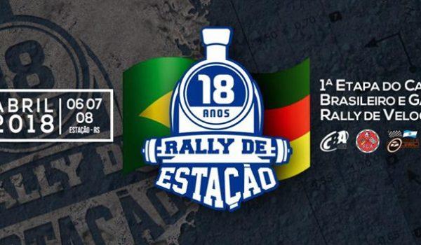 Estação abre o Campeonato Brasileiro de Rally