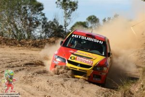 Rally da Graciosa extremamente travado