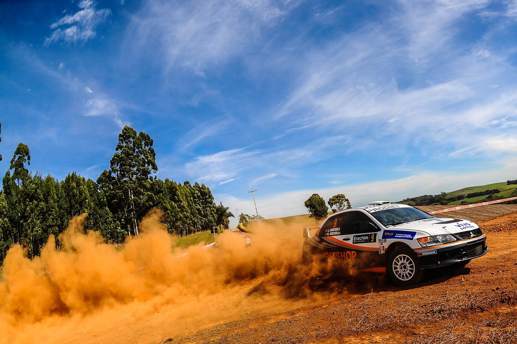 Juliano e Rafael Sartori vencem a 1ª etapa do Brasileiro de Rally de Velocidade em Erechim