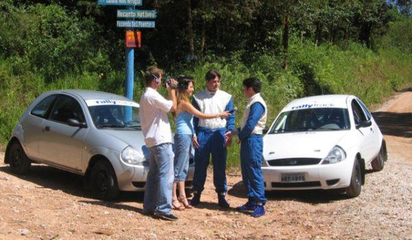 Equipe Rally Track no Programa Auto Shop neste dia 25