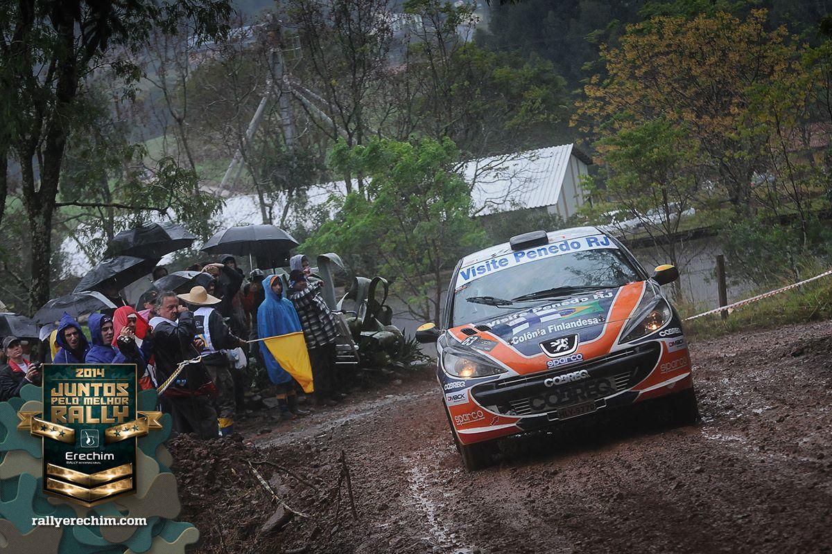 Muita chuva marcou o Rally de Erechim