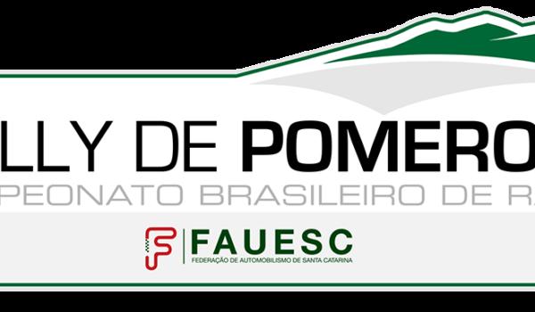 Pomerode vai abrir o calendário do Brasileiro de Rally de Velocidade
