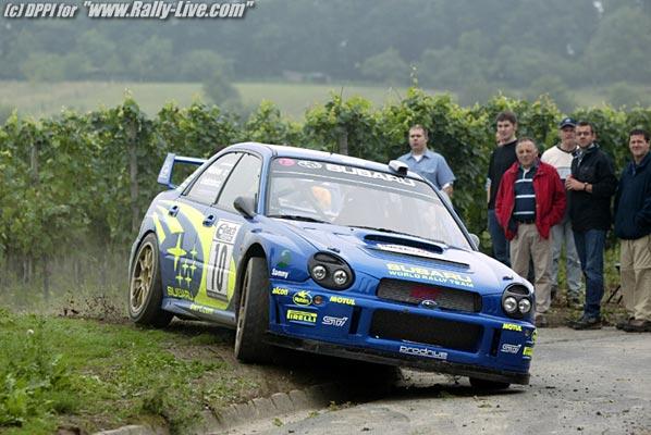 Categorias do Rally de Velocidade 2004