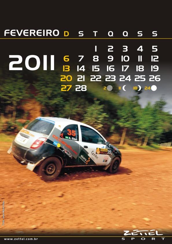 Zettel Sport lança calendário 2011