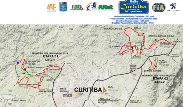 Rally Internacional de Curitiba faz pequenas alterações no trajeto e anuncia especial Super Prime